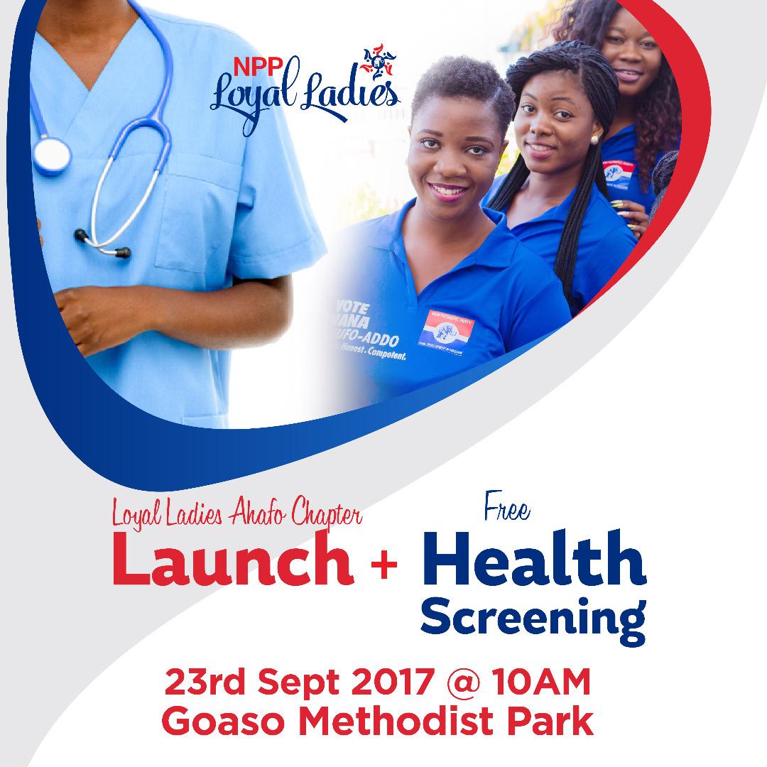 NPP Loyal Ladies Health Screening